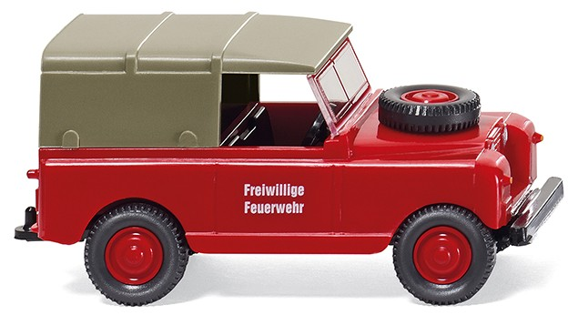 Wiking Land Rover Feuerwehr -Einzelstück-