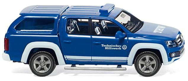 Wiking VW Amarok THW -Einzelstück-