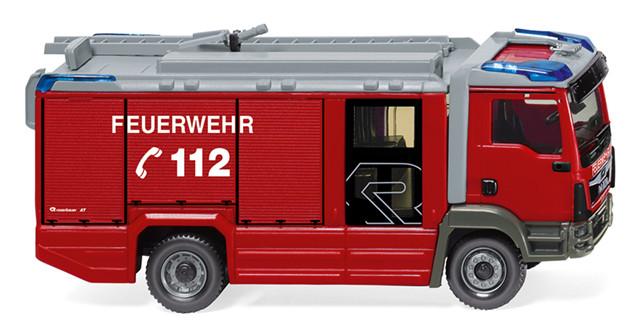 Wiking MAN TGM Euro 6 Rosenbauer AT LF Feuerwehr, NH 02/19