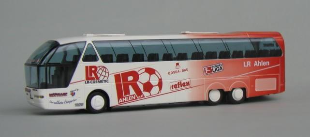 """AWM Neoplan Starliner SHDL Mannschaftsbus """"RW Ahlen"""" -Einzelstück-"""