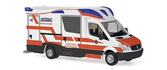 Rietze MB Sprinter 06 Tigis RTW Rettungsdienst Mittelstädt, Restmenge
