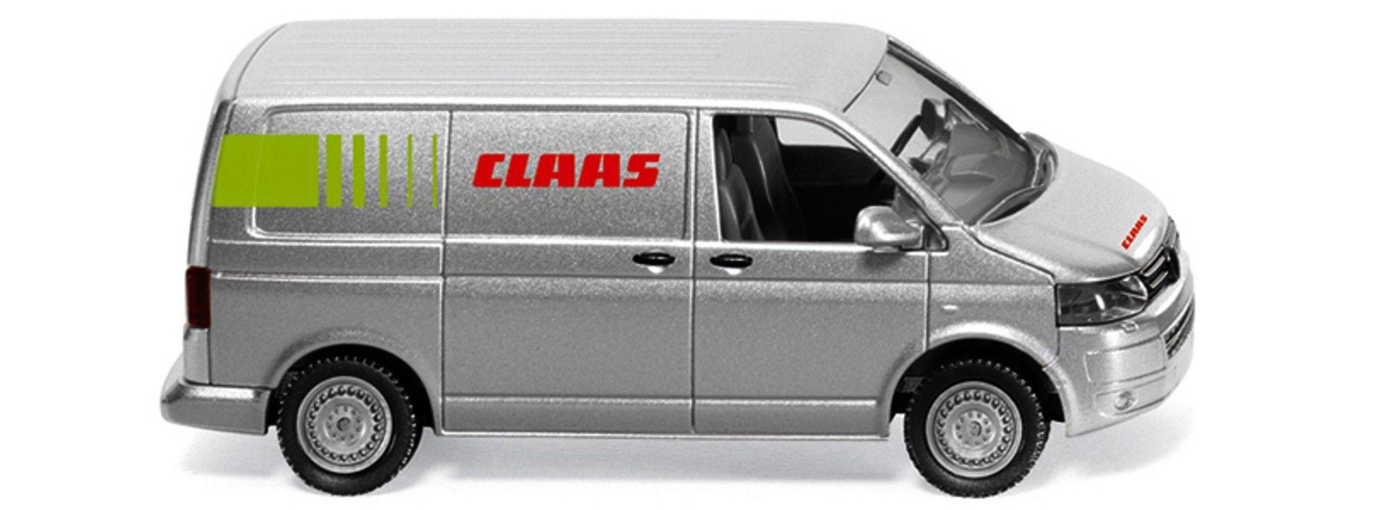 Wiking VW T5 GP Kastenwagen Claas -Einzelstück-