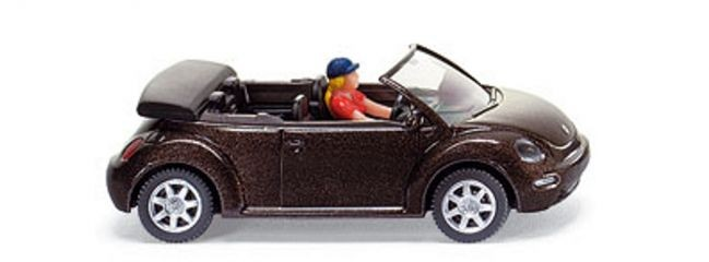 Wiking New Beetle Cabriolet  mit Fahrer