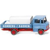 Wiking  MB L 508 Pritschenwagen mit Aufsetztank Firma Homberg / Barmen