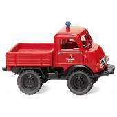 """Wiking Unimog U 401 """" Feuerwehr mit Pritsche """", NH 02/20,(Vorbestellung / Modell ist noch nicht lieferbar !!!)"""