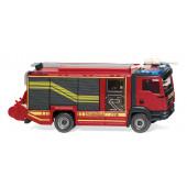 """Wiking MAN TGM E6 Rosenbauer AT """" Feuerwehr HLF mit Haspel """", NH 04/20,"""