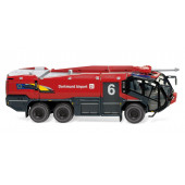"""Wiking Rosenbauer Panther 6x6 FLF """" Feuerwehr Flughafen Dortmund """", NH 02/21"""