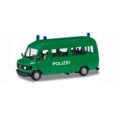 """Herpa Mercedes-Benz T1 Bus """"Polizei"""", NH 2018, Vorbestellung / Modell noch nicht lieferbar !!"""