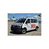"""Herpa VW T6 Multivan """"Fraport Marshalling"""" , NH 05-06/19,(Vorbestellung / Modell noch nicht lieferbar !!!)"""
