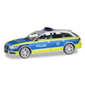 """Herpa Audi A6 ® Avant """"Polizei Baden-Württemberg"""", NH 03-04/19,(Vorbestellung/Modell noch nicht lieferbar !!!)"""