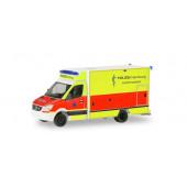 """Herpa MB Sprinter RTW """"Polizei Hamburg / Sanitätsdienst"""",(Vorbestellung/Modell noch nicht lieferbar !!)"""