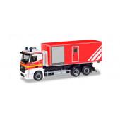 """Herpa MB Antos WLF """"Freiwillige Feuerwehr Norderstedt"""", NH 03-04/19,(Vorbestellung/Modell noch nicht lieferbar !!!)"""