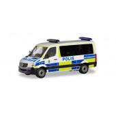 """Herpa MB Sprinter`13 Bus FD """"Polis (S)"""", NH 09-10/19, (Vorbestellung / Modell noch nicht lieferbar !!!)"""