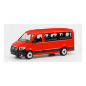 Herpa VW Crafter Bus Flachdach, rot