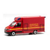 Herpa MAN TGE Fahrtec RTW Feuerwehr, NH 07-08/21,(Vorbestellung / Modell noch nicht lieferbar !!!)