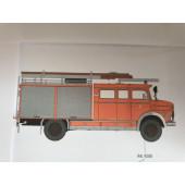 Brekina MB LAF 1113 TLF 16/25 Feuerwehr Hamburg Altona (BF), Vorbestellung / Modell noch nicht lieferbar !!!