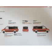 Herpa MB Sprinter 13 ELW Feuerwehr BF Hamburg Rotherbaum,(Vorbestellung / Modell noch nicht lieferbar !!)