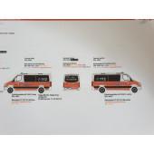 Herpa MB Sprinter 13 NEF Feuerwehr BF Hamburg Rotherbaum,(Vorbestellung / Modell noch nicht lieferbar !!)