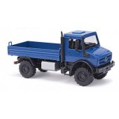 Busch MB Unimog U 5023 Pritsche in blau,