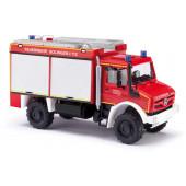 Busch MB Unimog U 5023 TLF Feuerwehr Solingen, NH Herbst 21,(Vorbestellung / Modell noch nicht lieferbar !!!)