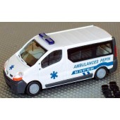 Rietze Renault Trafic Kombi Ambulances Pepin (F) (Restmenge)