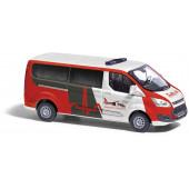 Busch Ford Transit Custom-Bus JUH Luftrettung, NH Herbst 21,(Vorbestellung / Modell noch nicht lieferbar !!!)