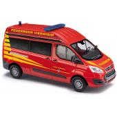 Busch Ford Transit Custom HD MZW Feuerwehr Viernheim, NH Herbst 21,(Vorbestellung / Modell noch nicht lieferbar )!!!