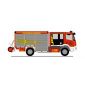 """Rietze MB Atego Varus """" Feuerwehr Menden """", NH 11-12/20,"""