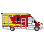 """Rietze Einsatz-Serie MB Sprinter 18 GSF RTW """" Feuerwehr Bünde """", NH 01-02/21"""