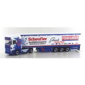 """Herpa Scania CS20 HD Kühlkoffersattelzug """"Scheufler - Fernfahrer"""",(Sommerfest 2019)"""