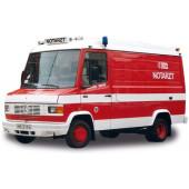 """Herpa Sondermodell Handel Nord, Mercedes-Benz T2 NAW """"Feuerwehr Bremen"""""""