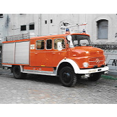 Brekina MB LAF 1113 TLF 16/25 Feuerwehr Hamburg Alsterdorf (BF), Vorbestellung / Modell noch nicht lieferbar !!!!