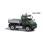 Busch Unimog U 430 Pritsche in grün -Einzelstück-