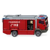 Wiking MAN TGM Euro 6 Rosenbauer AT LF Feuerwehr, NH 02/19,(Vorbestellung / Modell noch nicht lieferbar !!)
